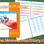 student planner generic