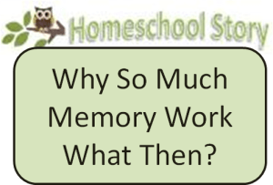 why memory work