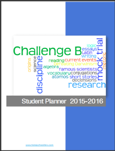Challenge B Planner Cover Pic