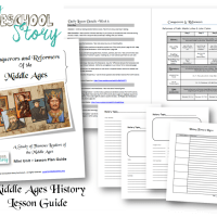 History Lesson Guides - and why your kids should cook!