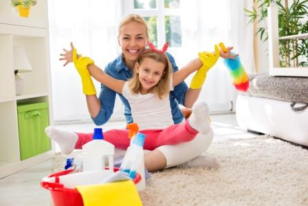 Cleaning Tips for Homeschool Moms