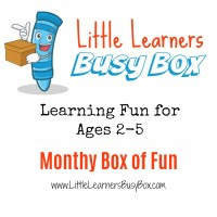 Busy Box for Preschoolers