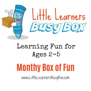Little Learners Busy Box