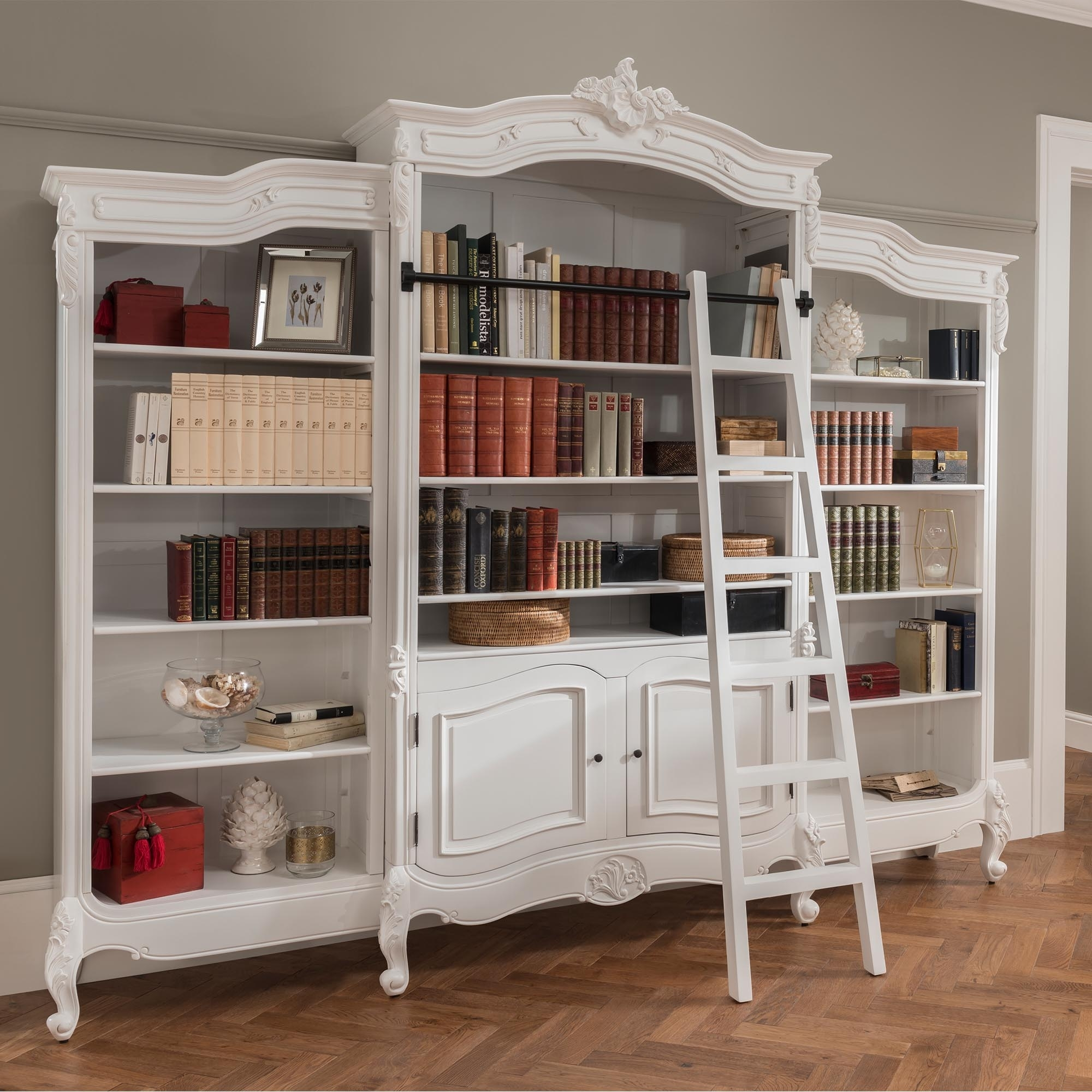 Antique French Style Bookcase