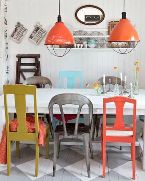 Maak je eetkamer vrolijk met deze tips   www.homeseeds.nl
