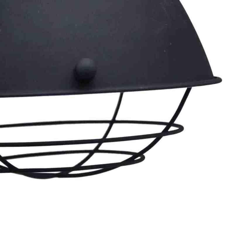 Close up lamp prison van urban interiors industriele verlichting van metaal