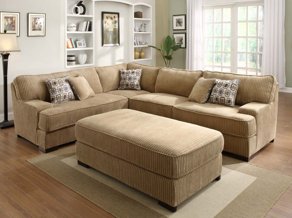 Microfiber Sectional Sofa Lavish Element For Your Living