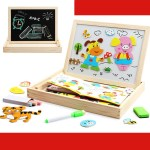 Character Five Senses Magnet Early Learning Educational Toys