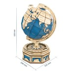 Telescope Astronomical Geographer Wooden D Three-dimensional Assembling Toy