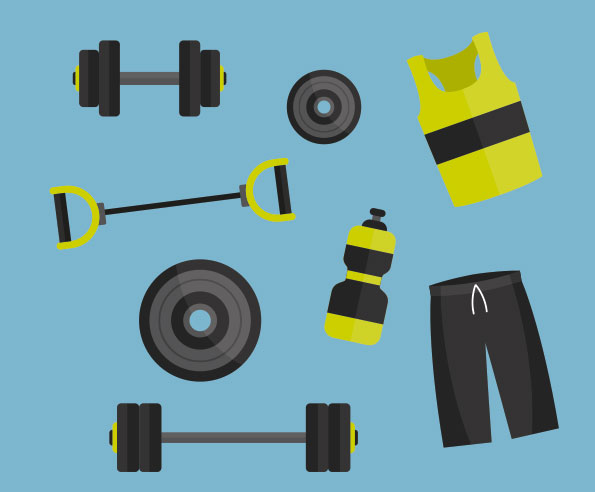 Must have basic gym equipment