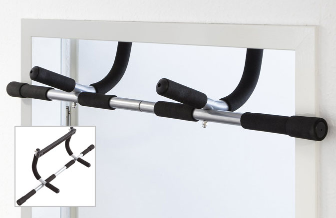 a good quality over the door frame pull up bar is your best option if your looking for a cheap and safe way to perform pull ups at home - Door Frame Pull Up Bar