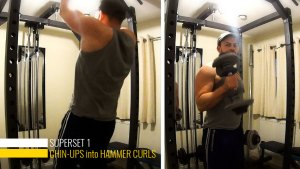 Big arms superset 1