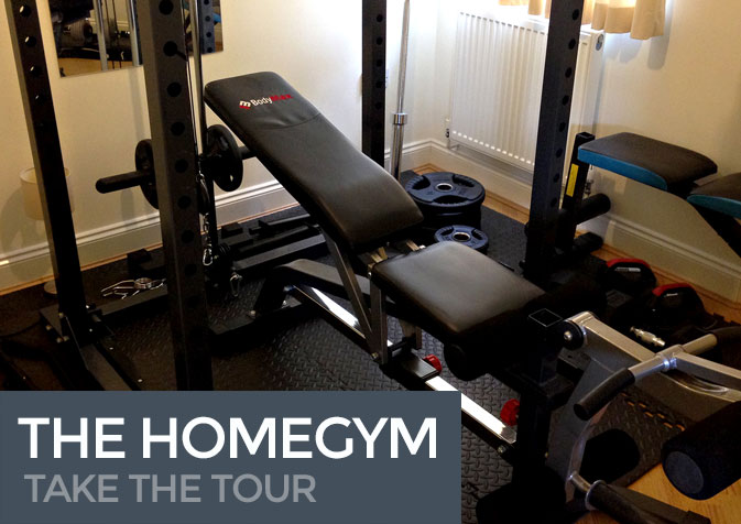 Home gym tour