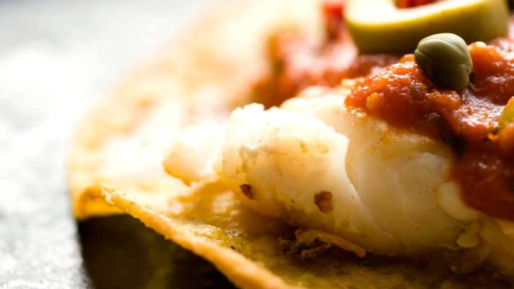 Fish tostadas with Veracruzana salsa | Homesick Texan