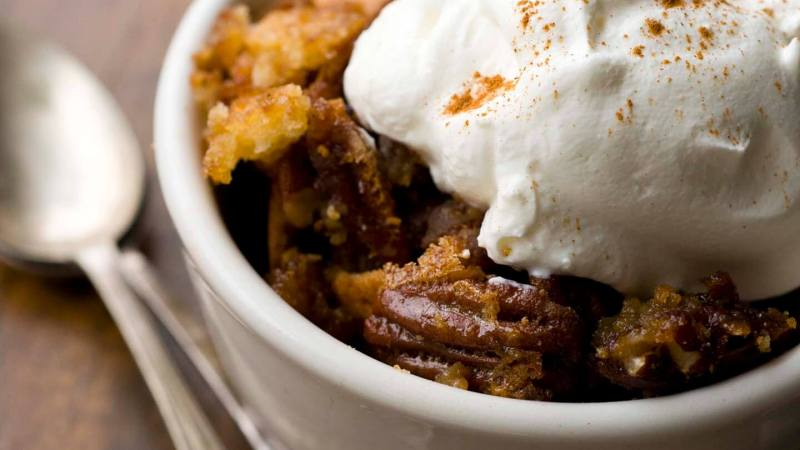 Pecan cobbler with sorghum syrup | Homesick Texan