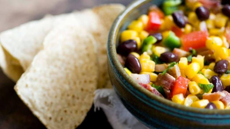 Corn and black bean salsa   Homesick Texan