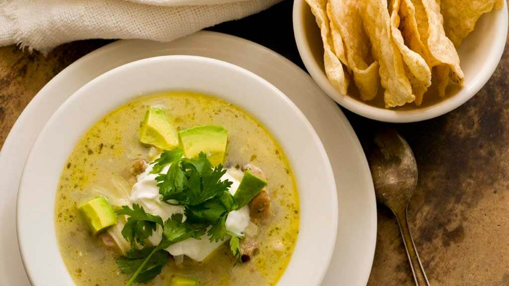 turkey enchilada verde soup | Homesick Texan