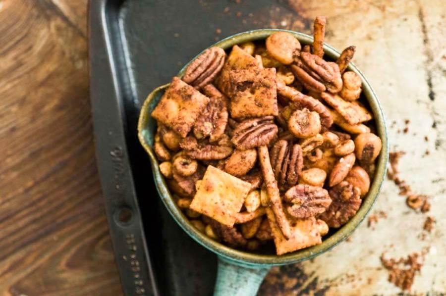 Chipotle lime Texas trash snack mix | Homesick Texan