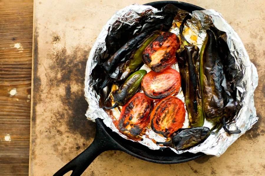West Texas roasted salsa | Homesick Texan
