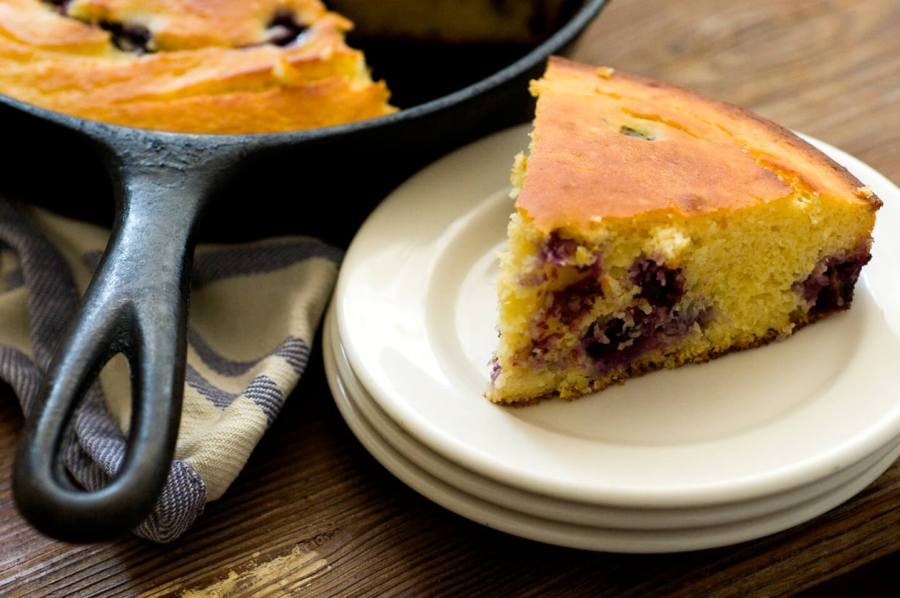 Blueberry cornbread | Homesick Texan