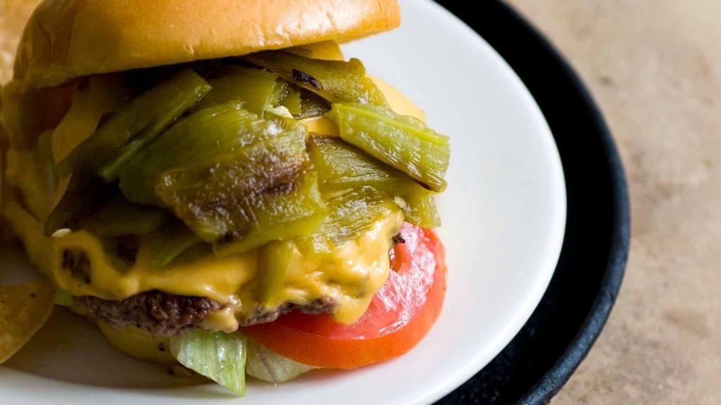 Green chile cheeseburgers   Homesick Texan