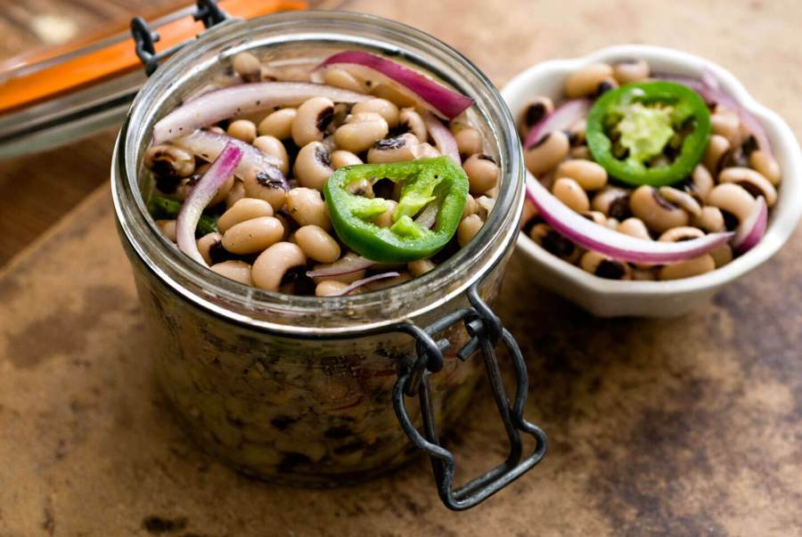 Pickled black-eyed peas | Homesick Texan