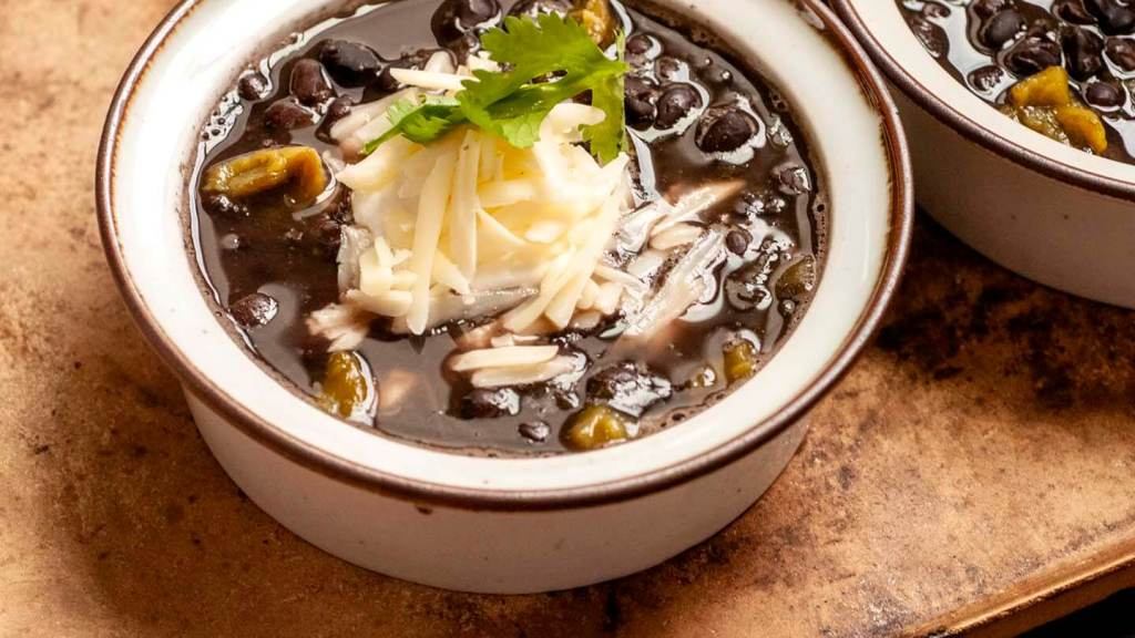 West Texas black beans with green chiles | Homesick Texan