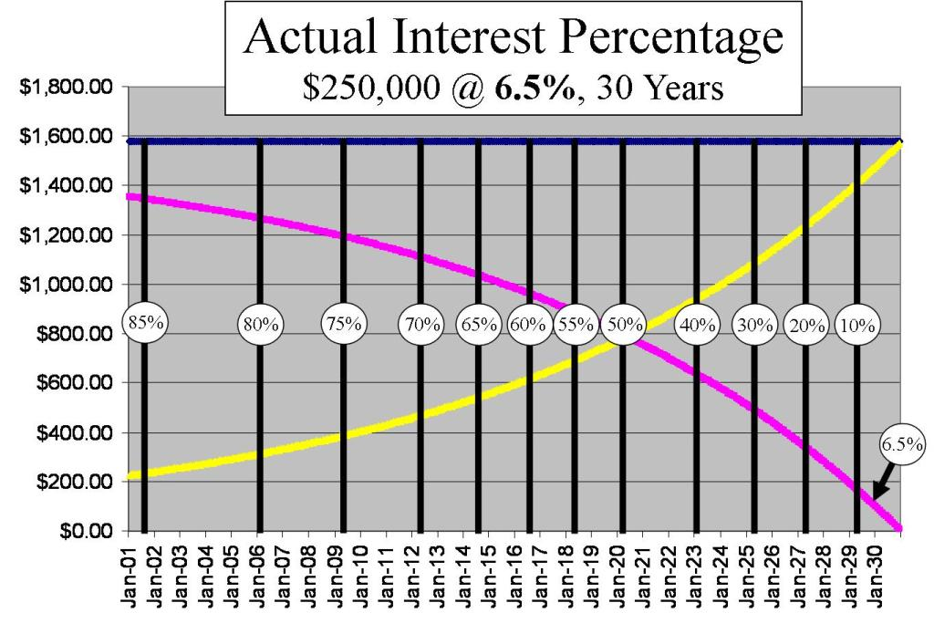 Actual Interest Percentage