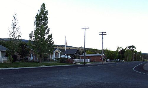 Real estate in the Mayfield Utah.