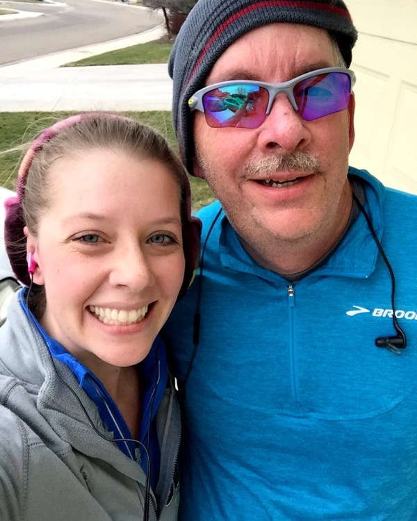 Long run with dad