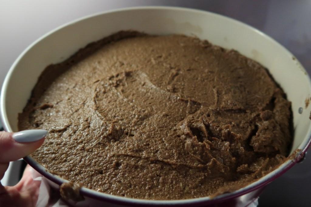 brownie z bobu surowe ciasto