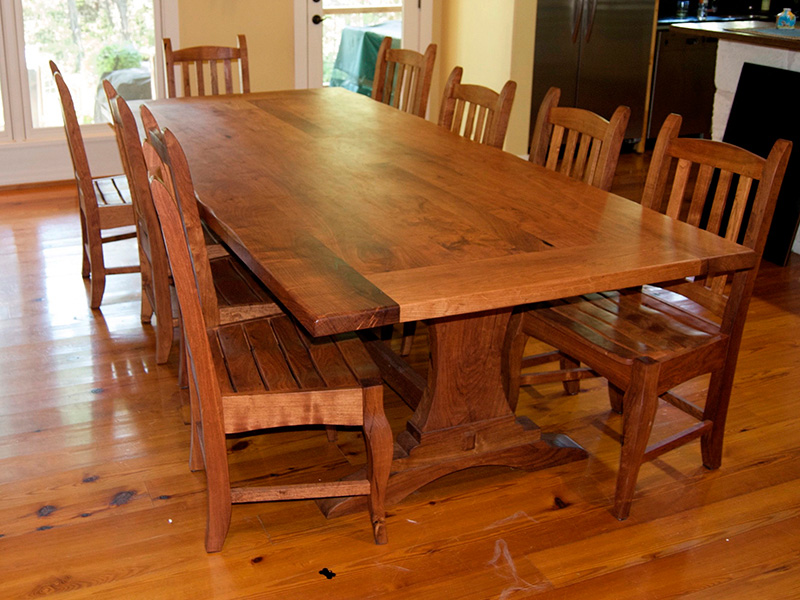 Wooden End Hand Carved Tables