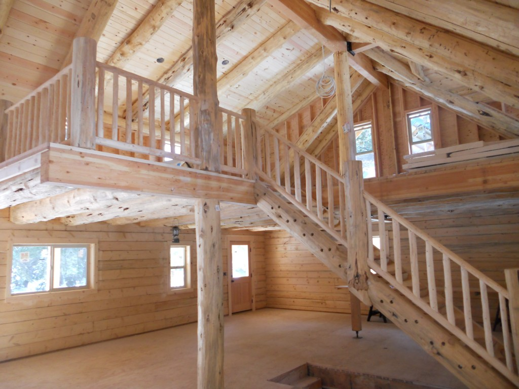 Cascade Mountain Range Log Home Preassembled Log Homes And Cabins By Homestead Log Homes