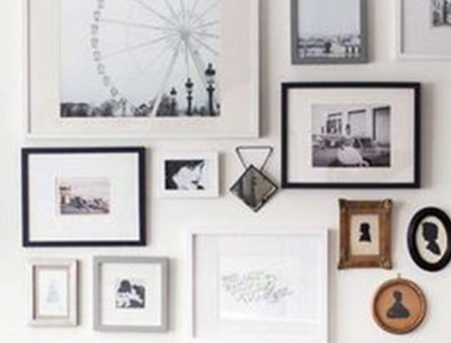 Our tips for a successful wall of frames