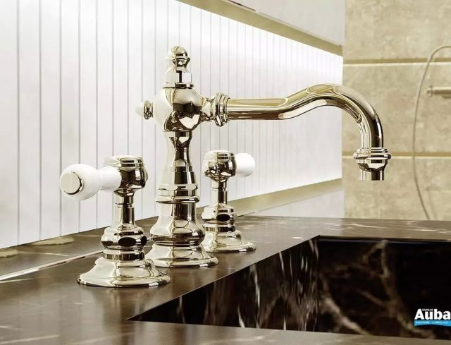 Choose a retro faucet for your kitchen and bathroom!