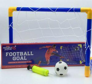 Mini Football Goal Set With Ball And Pump