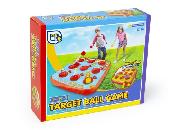 colour gift box for 2 in 1 inflatable target game