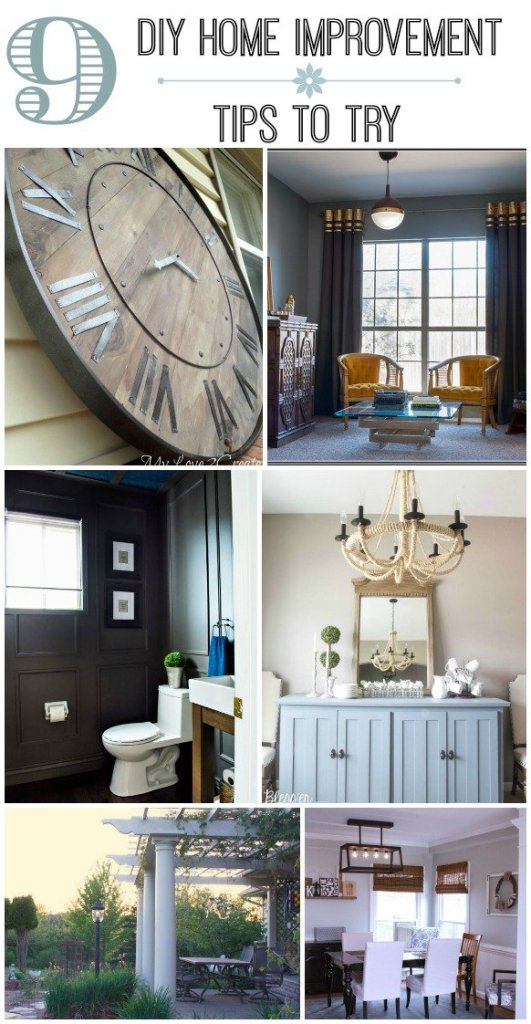 9 Do It Yourself Home Improvements To Try