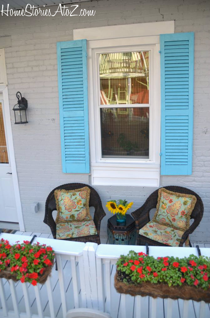 Back Porch Reveal And Lowes 100 Gift Card Giveaway