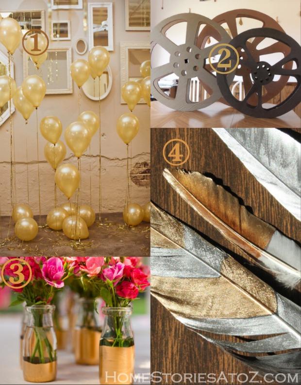 Oscar Award Party Ideas Home Stories A To Z
