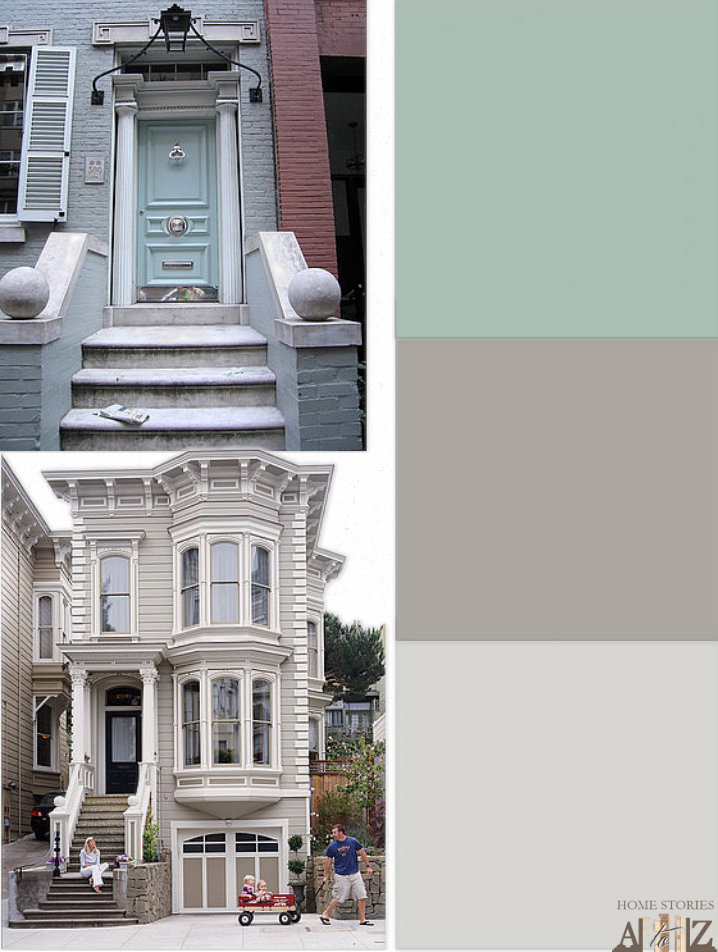 Row Home Exterior Paint Home Stories A To Z