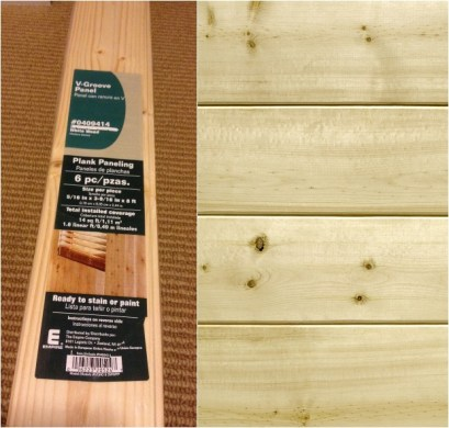 DIY Plank Wall Tongue and Groove Tutorial planks to use for tongue and groove wall