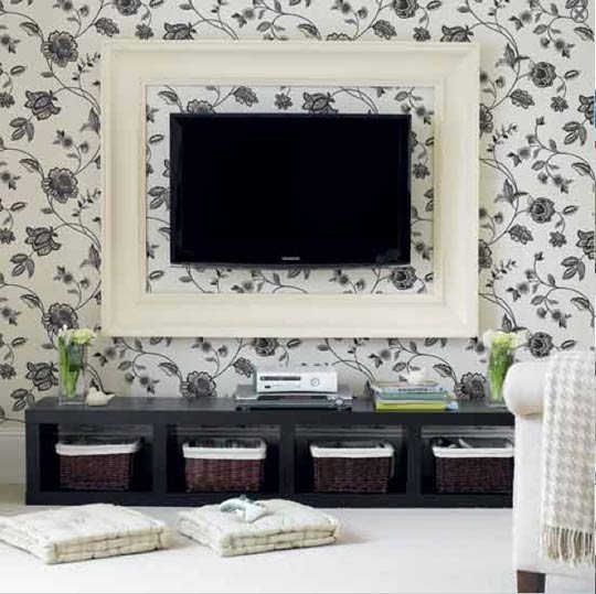 Tv Wall Decor Nerdlee Com
