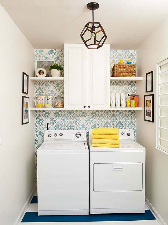 25 Small Laundry Room Ideas small space laundry room