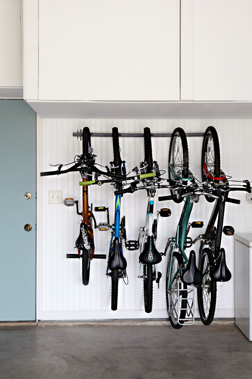 Secure Vertical Bike Rack