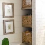 How To Build Bathroom Shelves Next To Shower