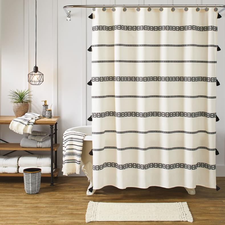 masculine bathroom shower curtains