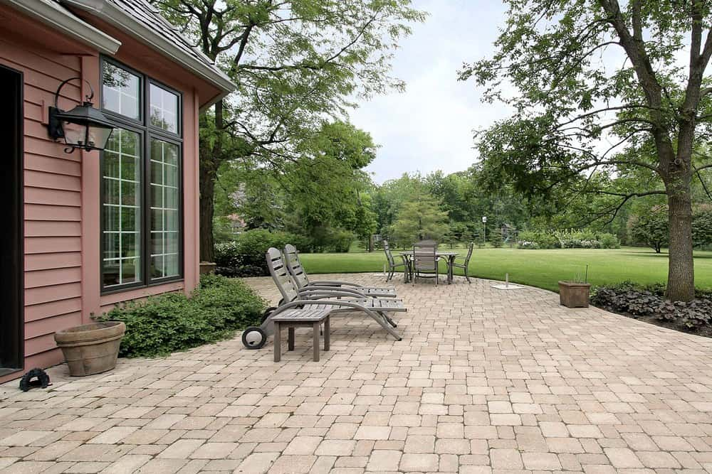 50 Brick Patio Patterns Designs And Ideas
