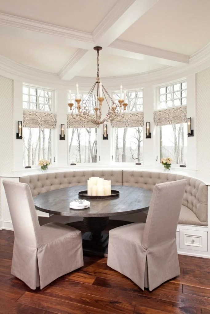 50 Custom Cozy Kitchen Dining Nooks With Built In Seating Photos