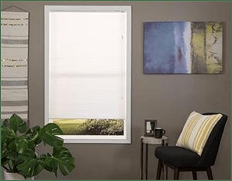 Window shades (white)